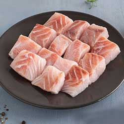 Sea Bass Barramund Boneless Cubes